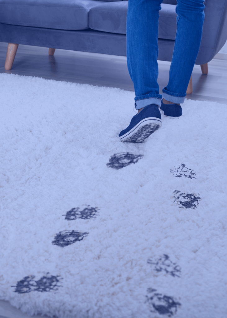 Netīrs paklājs